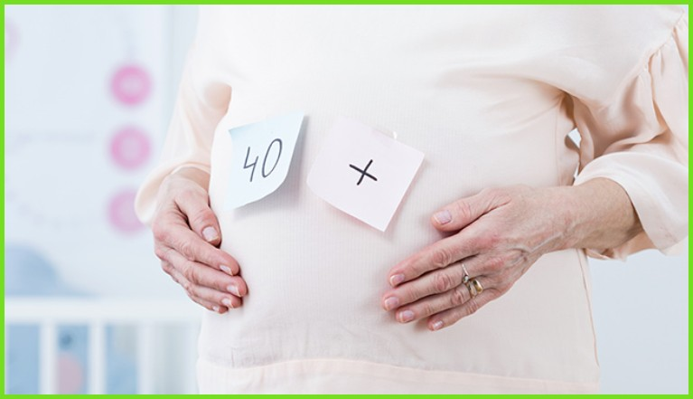 Минусы поздней беременности